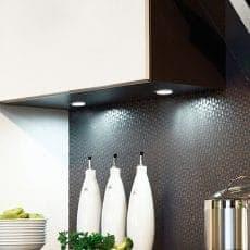 LED-Leuchte LD8001AL-55 Spot eingebaut in Küchenoberschrank erleuchtet Arbeitsfläche