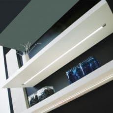LED.Leuchte LD8003E eingebaut im Regal Ladenbau Warenpräsentation