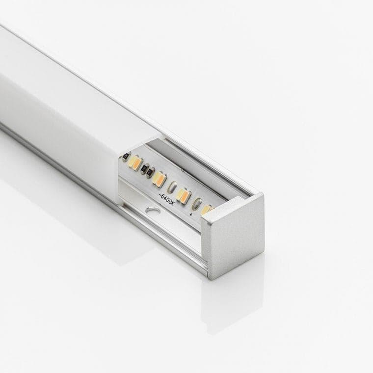 LED-Leuchte LD8101 mit Endkappe