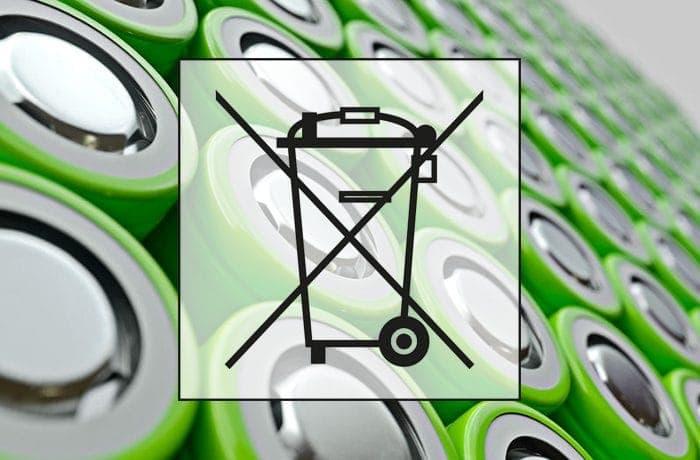Batterieentsorgung - nicht in den Hausmüll