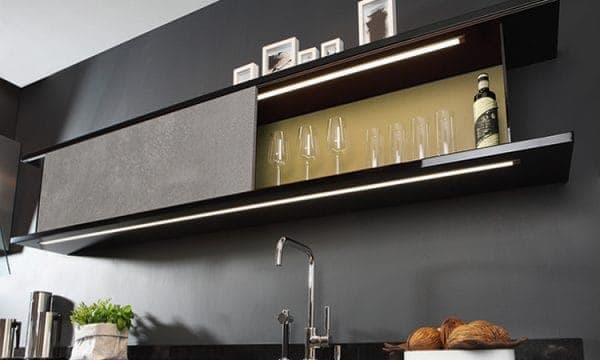 LED-Leuchte LD8003P in Küchenoberschrank