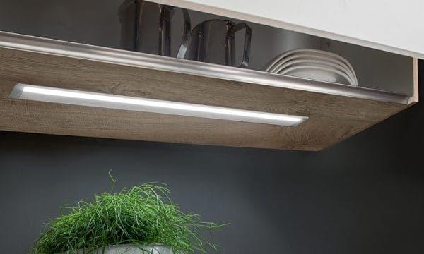 Hochvolt Einbauleuchte LD8010EF in Küchenoberschrank