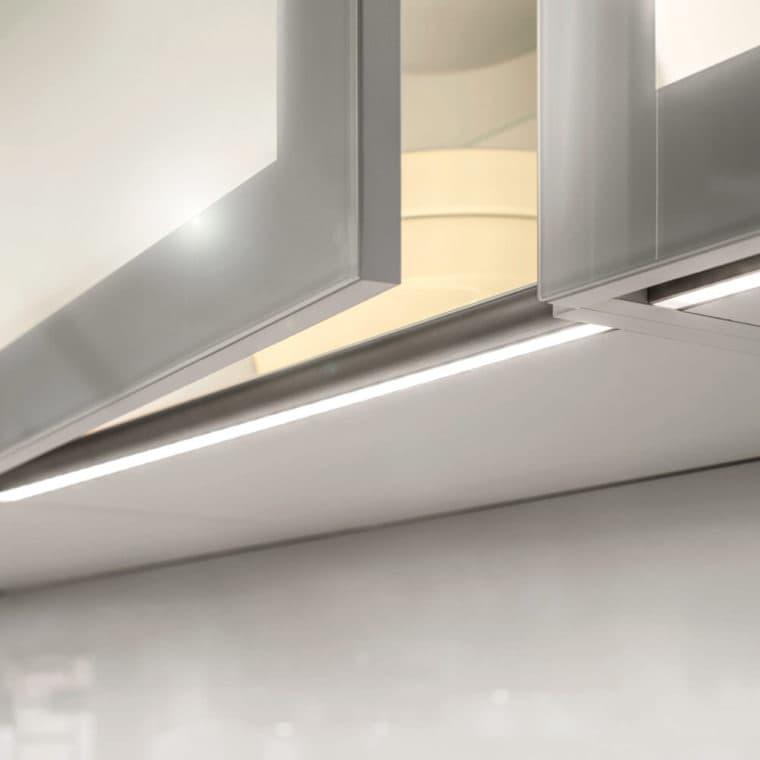 LED-Leuchte LD8080X Griffleiste für grifflose Küche