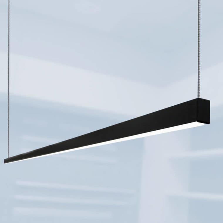 LED-Leuchte LD8104 Pendelleuchte schwarz